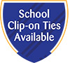 Clip-on School Ties